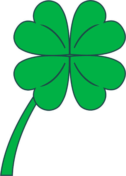 Free Clover Clipart - Public Domain Holiday/StPatrick clip art ...