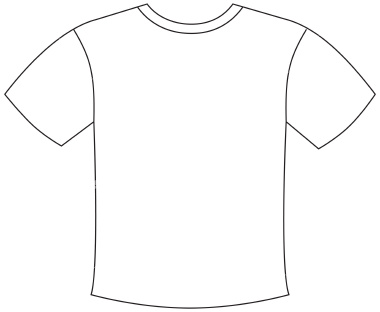 T Shirt Outline Printable Clipart Best Cliparts Co