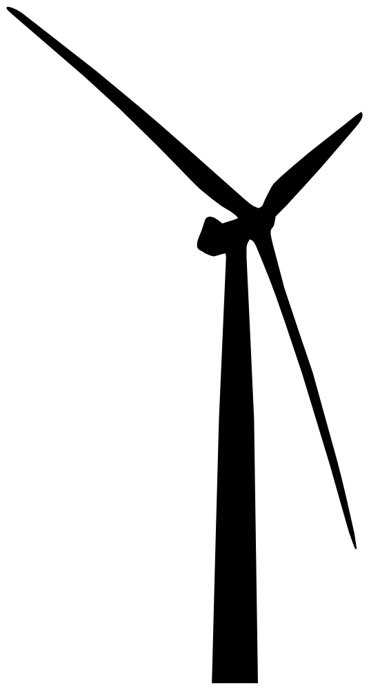 OnlineLabels Clip Art - Wind Turbine