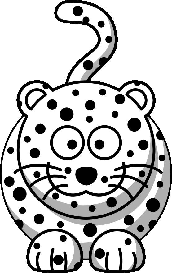 Baby Cheetah Clipart Black And WhiteBaby Cheetah Clipart Black And White
