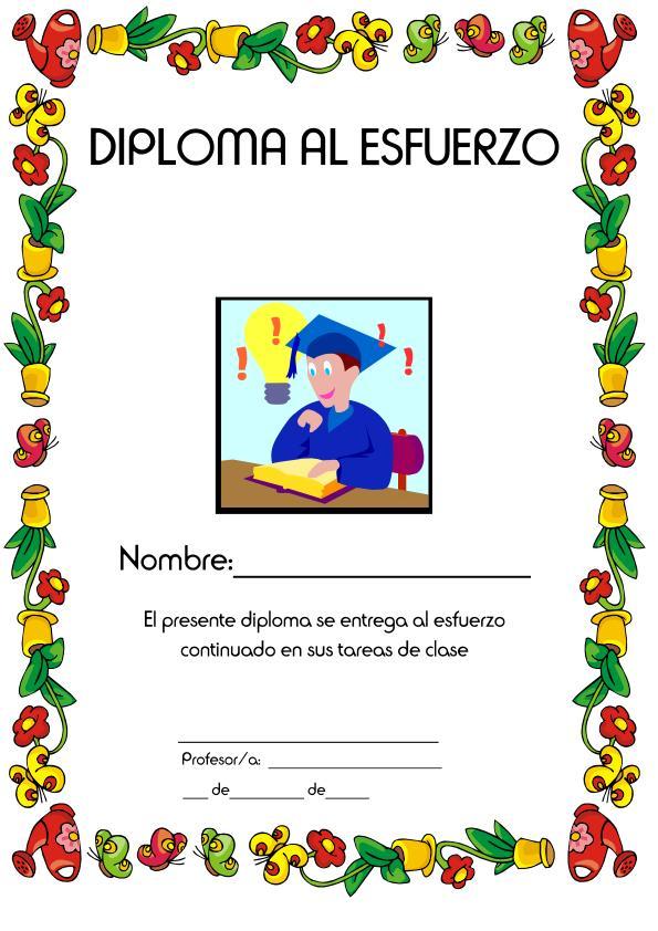 Diplomas Para Imprimir