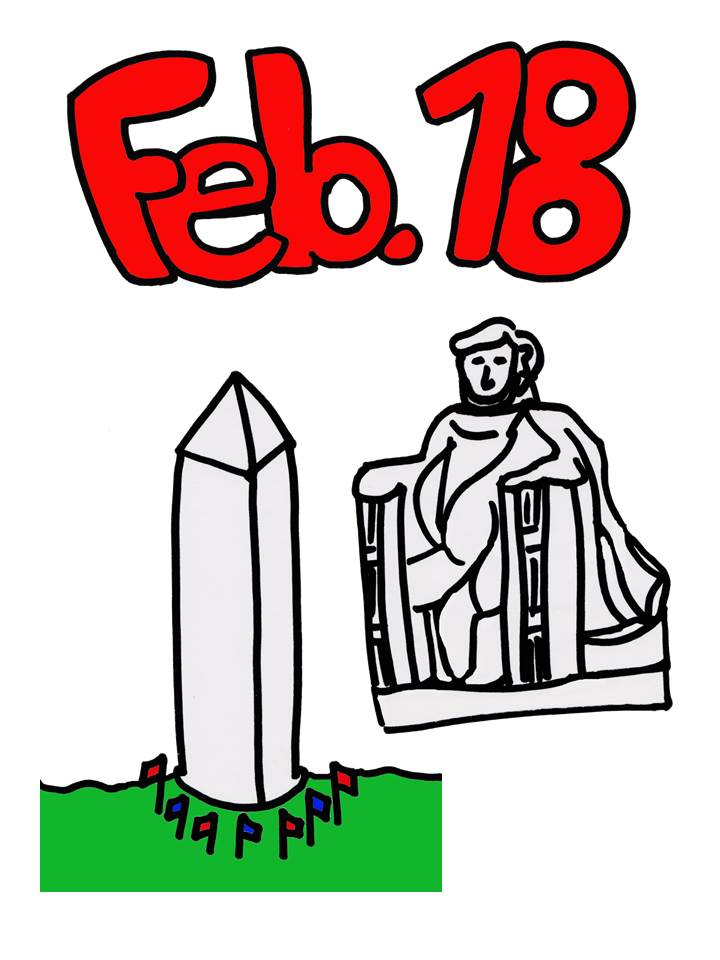 Presidents' Day Clip art Pictures | Excel Monthly Calendar ...