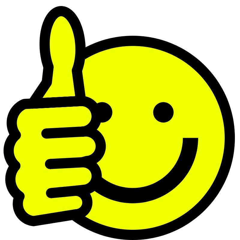 Thumbs Up Smile - Cliparts.co