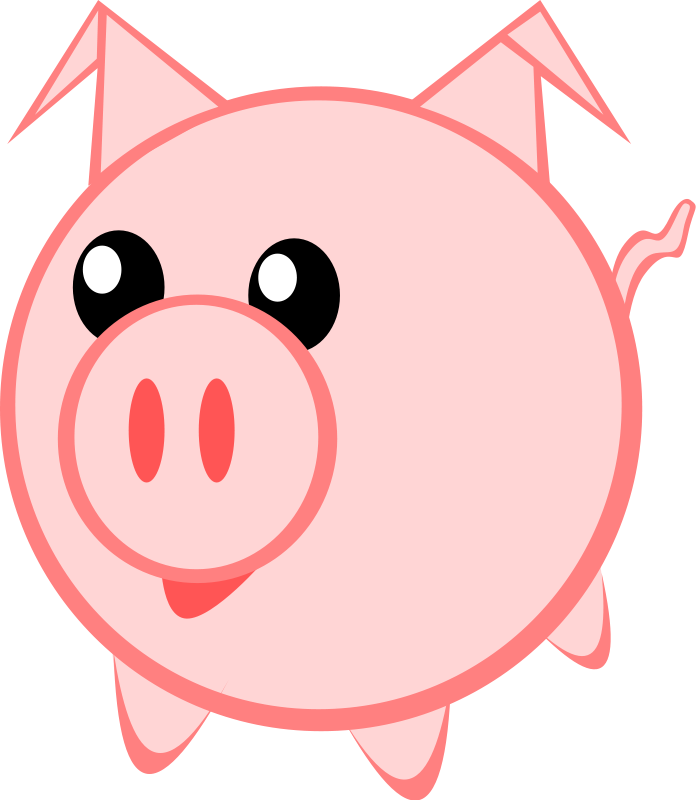 Free to Use & Public Domain Pig Clip Art - Page 2