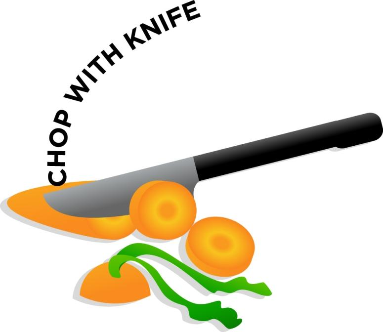 View 1304_Chop.jpg Clipart - Free Nutrition and Healthy Food Clipart