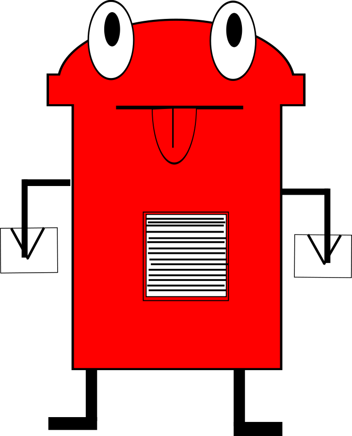 Post box Clipart, vector clip art online, royalty free design ...
