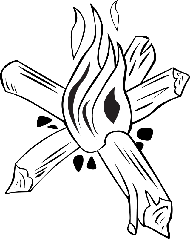 Camp Fire Clip Art