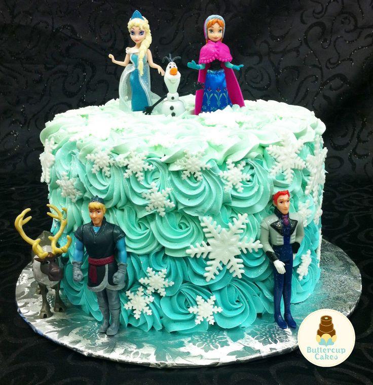 Character Frozen Cake