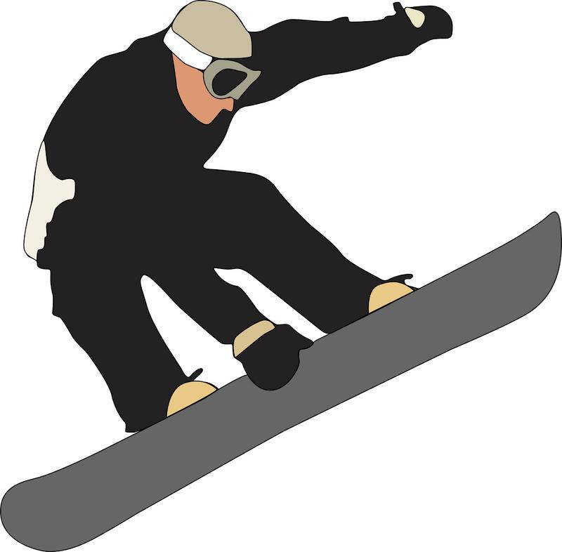 Snowboarding Clipart - Cliparts.co