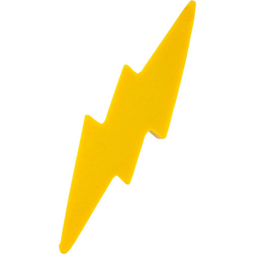 Lightning Bolt Stress Ball | Custom Stress Balls | 1.10 Ea.