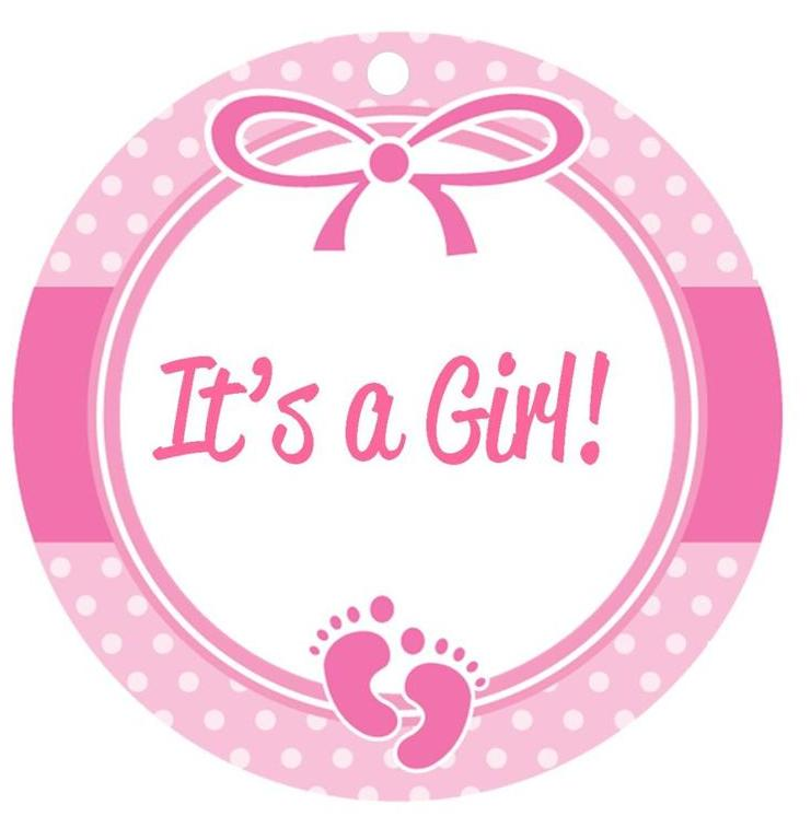 Baby Shower Clipart Girl - Cliparts.co