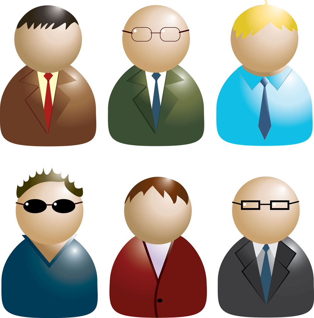 Business People Icon Png Business people icon 02 vector