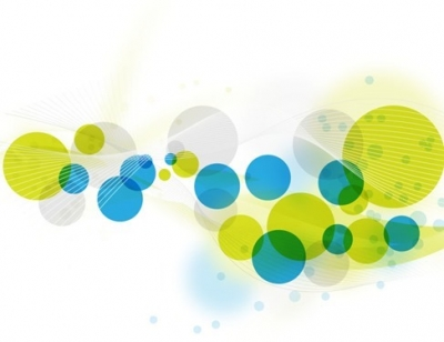 Abstract Circles Background Vector Graphic Art - Free Vector for ...