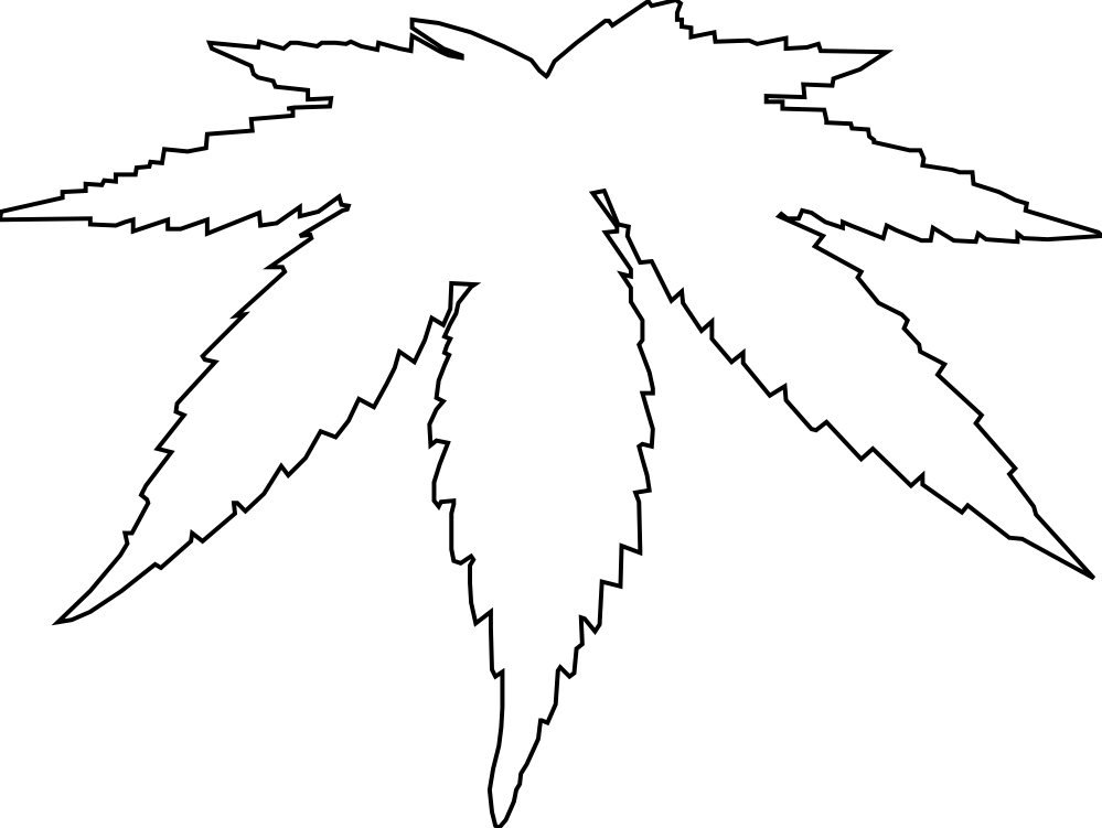 Marijuana Leaf Clip Art - Cliparts.co