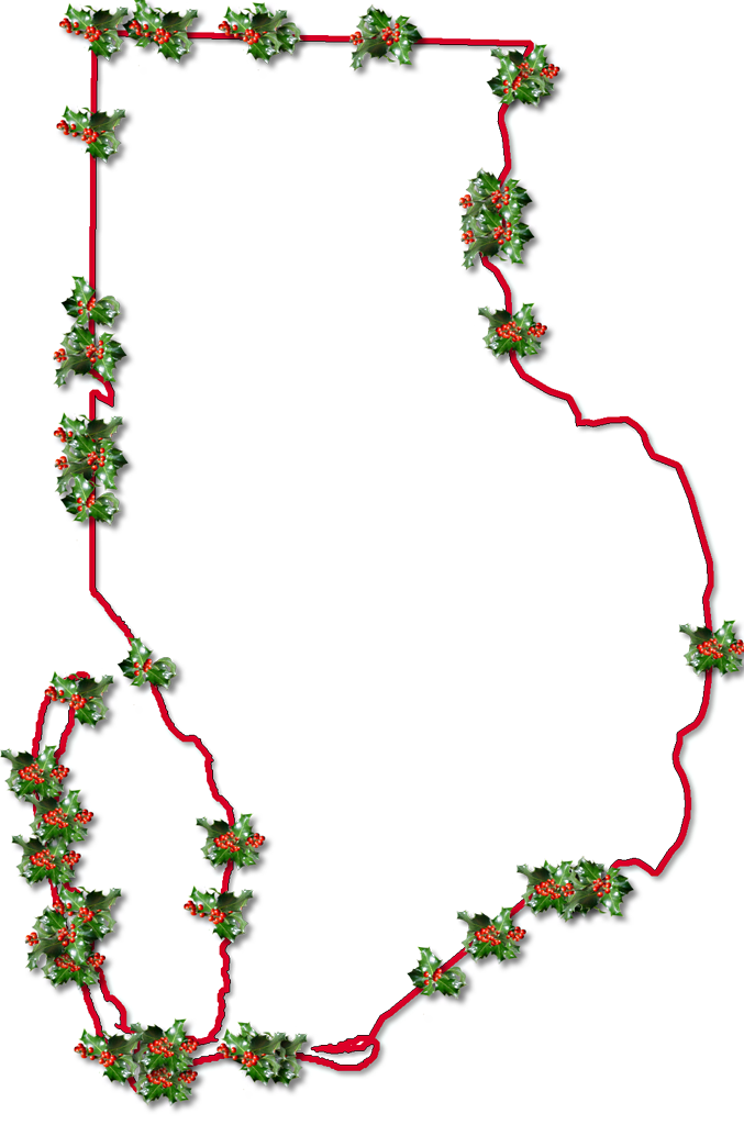Picture Of Holly Leaves - Cliparts.co