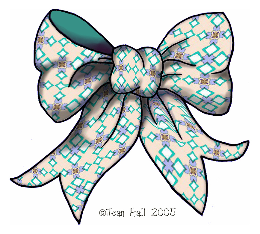 ArtbyJean - Paper Crafts: 43 BRIGHTLY COLORED RIBBON BOWS ...