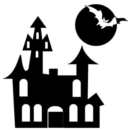 Black and white halloween clipart - Halloween black and white ...