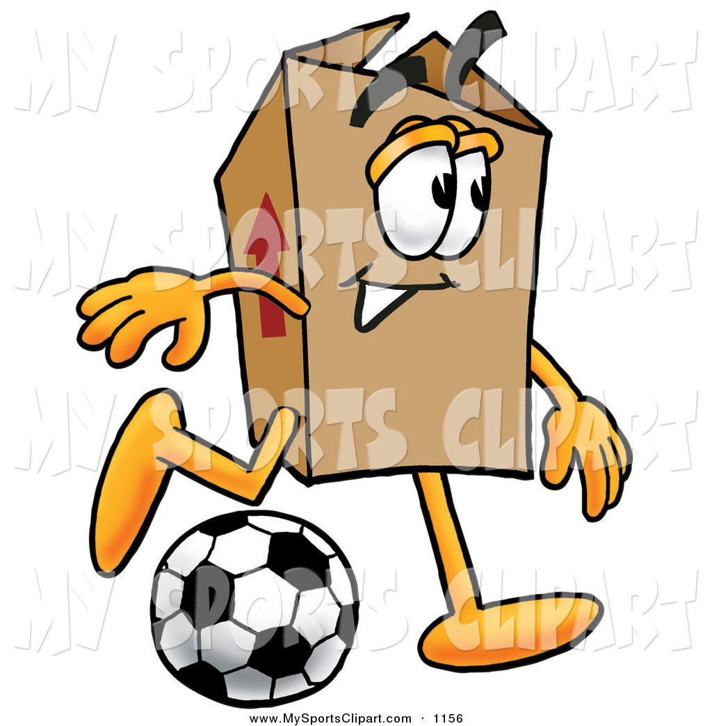 Soccer Ball Being Kicked Goal Cartoon - Cliparts.co