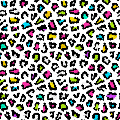 Colorful Cheetah Wallpaper - Cliparts.co
