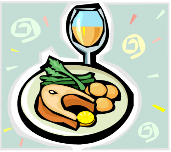 Christmas Dinner Clip Art - Cliparts.co
