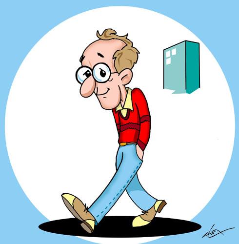 Woody Allen Cartoon - ...