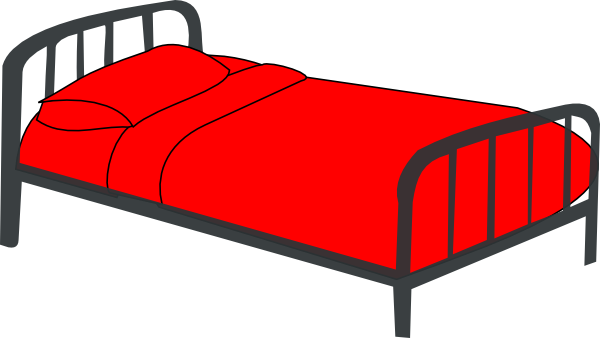 clipart dog in bed - photo #19