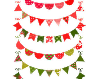 Christmas Pennant Banner Clip Art Images & Pictures - Becuo