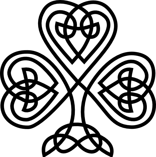 Celtic Knot Alphabet - Cliparts.co
