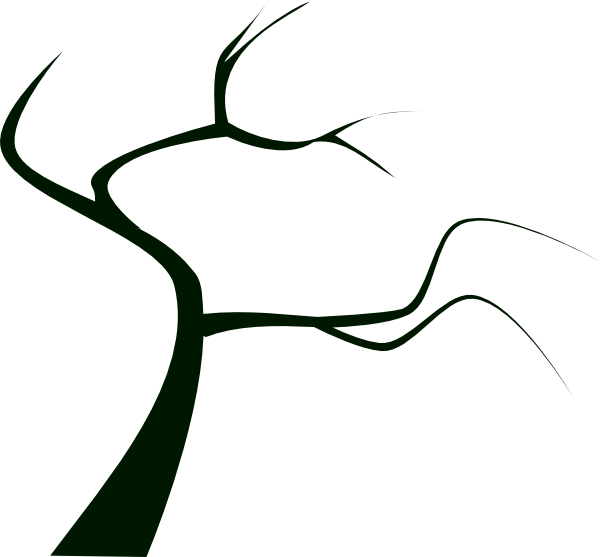 Creepy Tree Silhouette - ClipArt Best