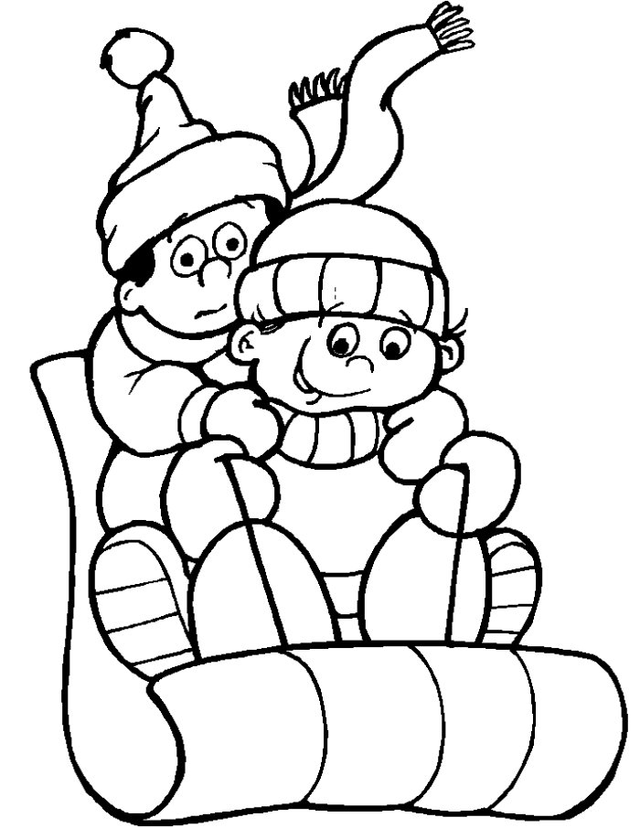 Winter Coloring Pages | ColoringMates.