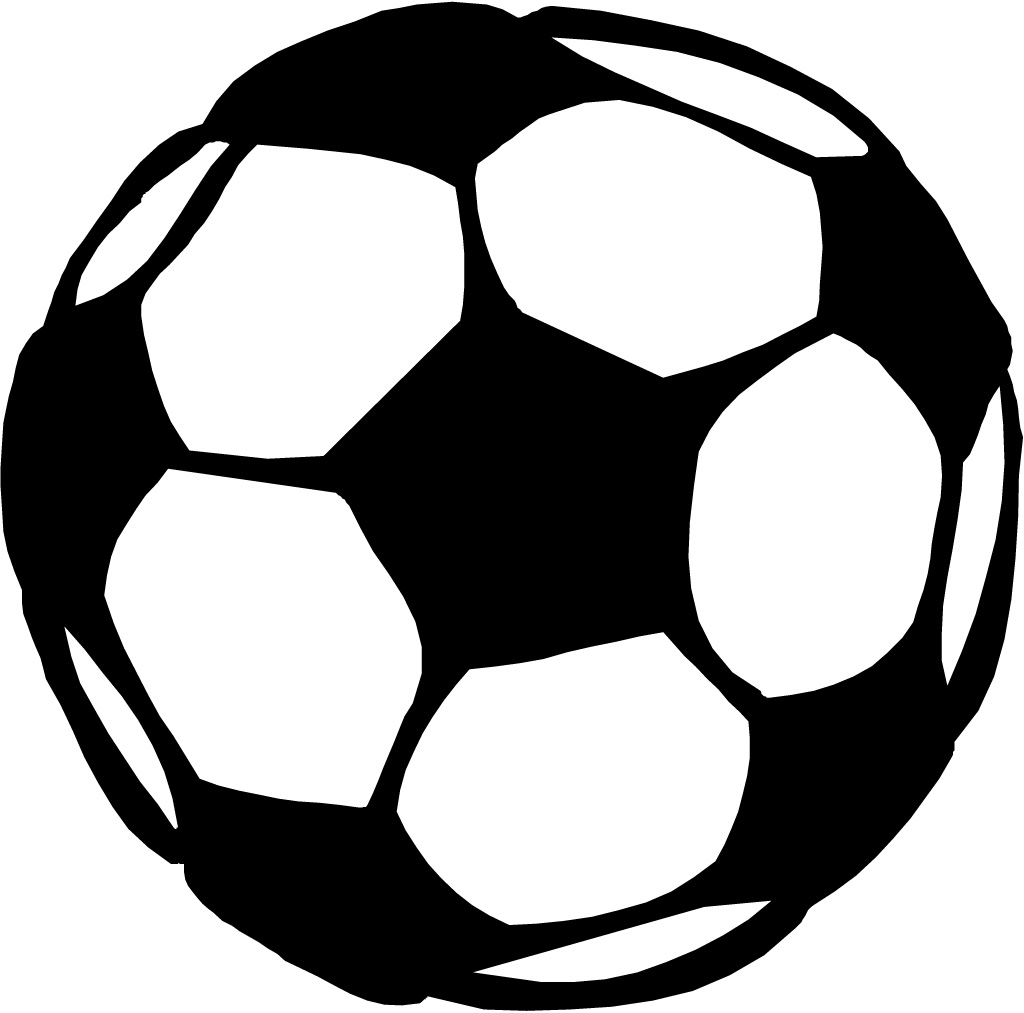 Black And White Football Clipart - ClipArt Best