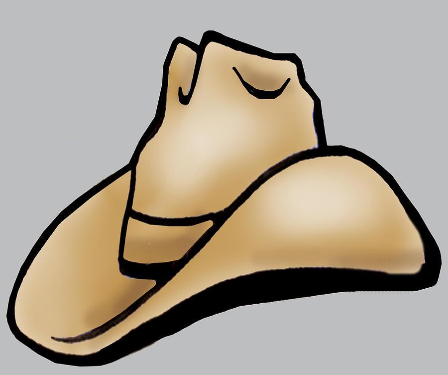 Cowboy Hat by Kevin Middleton - Cowboy Hat Digital Art - Cowboy ...: cliparts.co/cowboy-hat-art