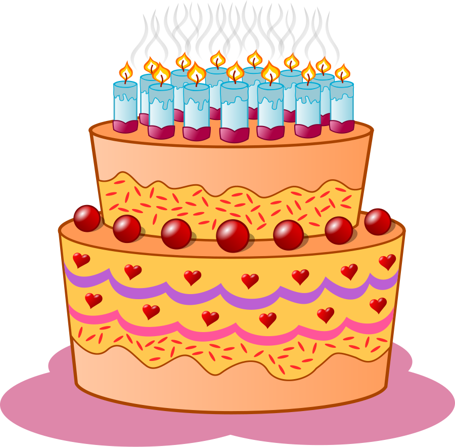 Cake Pictures Birthday Free : Cake Vector - Cliparts.co