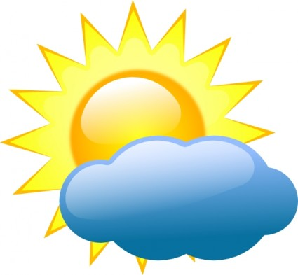 sunny weather clipart rh worldartsme com partly sunny clip art sunny weather clip art