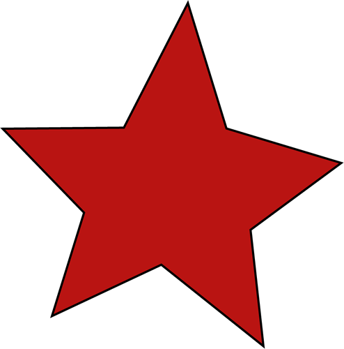 Red Star Clip Art - Red Star Image