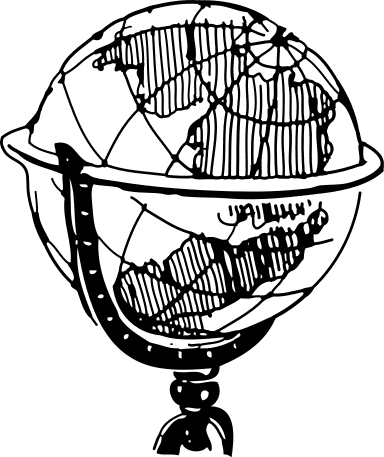 World Map Clip Art Black | Clipart Panda - Free Clipart Images
