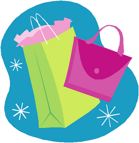 Shopping Bags Clipart - Cliparts.co