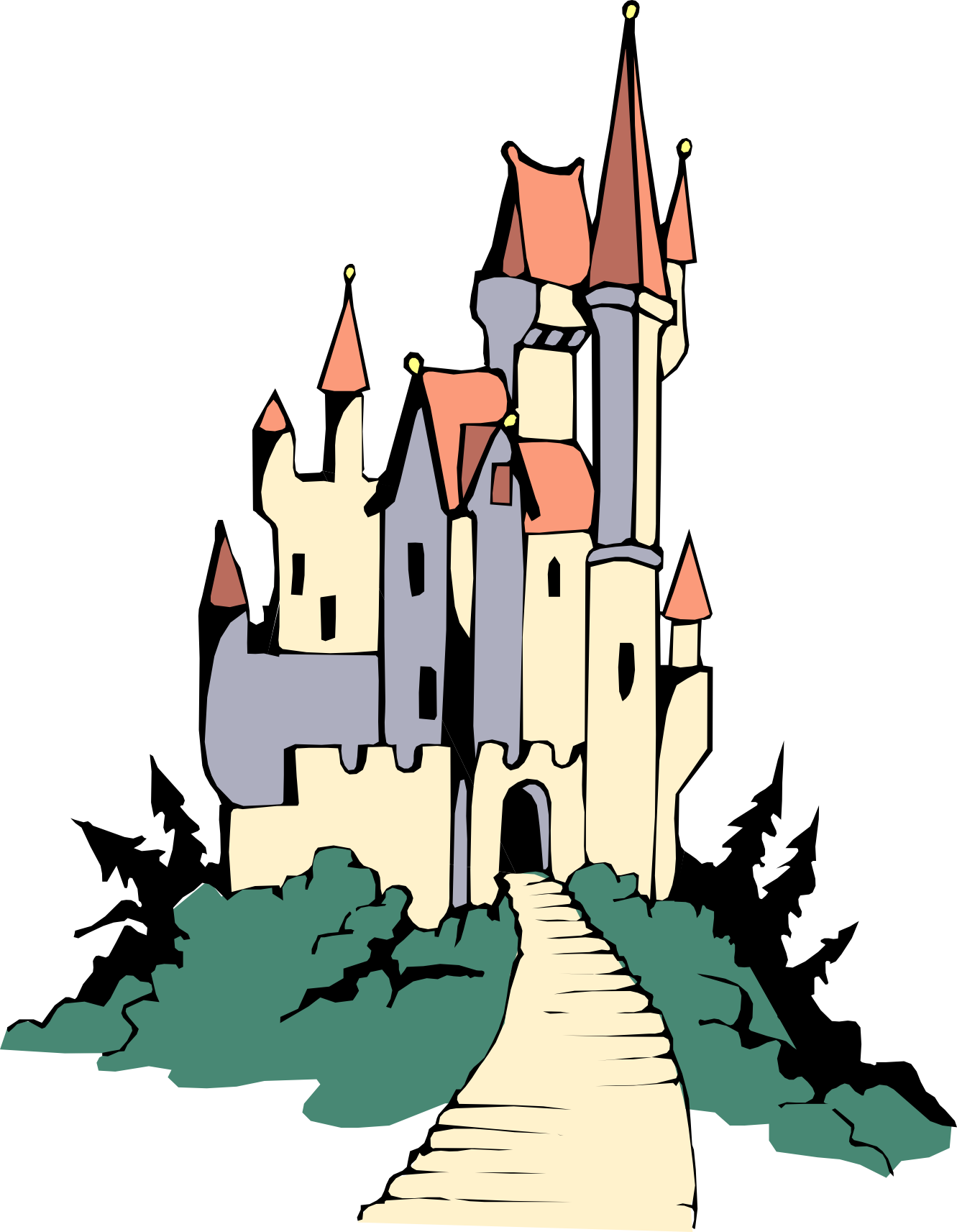 75 images of Disney Castle Clip Art . You can use these free cliparts ...