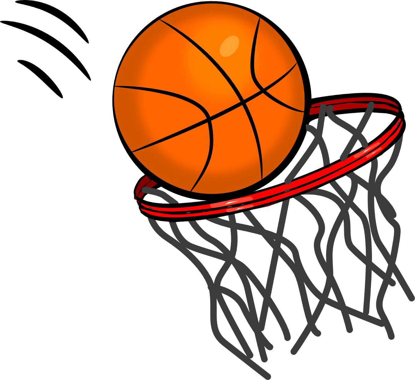 Images For > Clipart Basketball