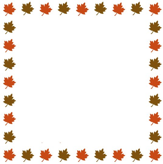 Thanksgiving Border Clip Art - Cliparts.co