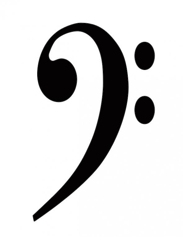 Free Clip Art Music Symbols - Bass Clef - ClipArt Best - ClipArt Best