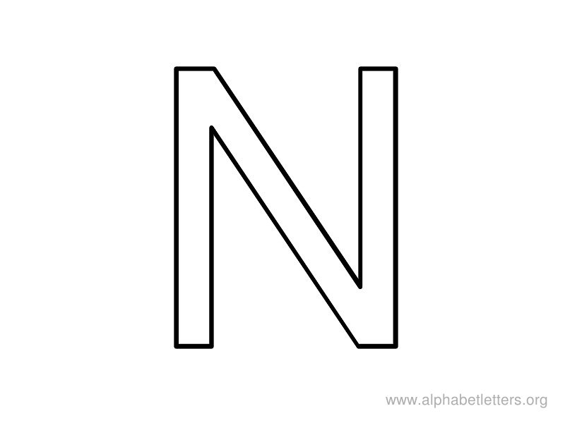 picture regarding Printable Letter N called Alphabet Letters N Printable Letter N Alphabets Alphabet
