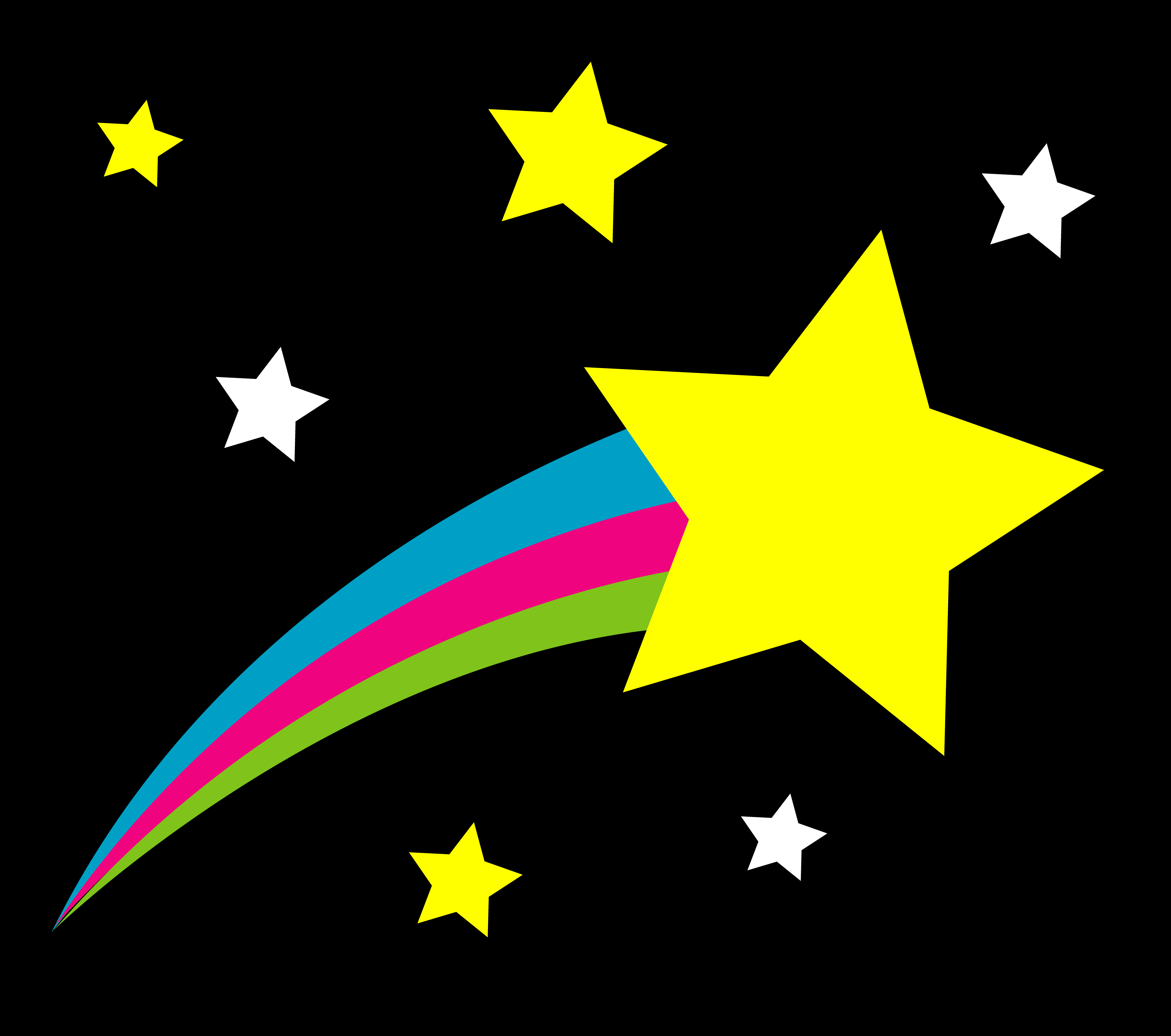 Shooting Star Graphics - Cliparts.co