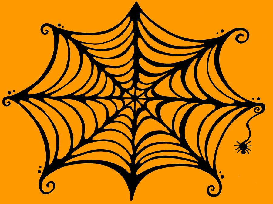 Spider's Web By Mandy Shupp - Spider's Web Drawing - Spider's Web ...