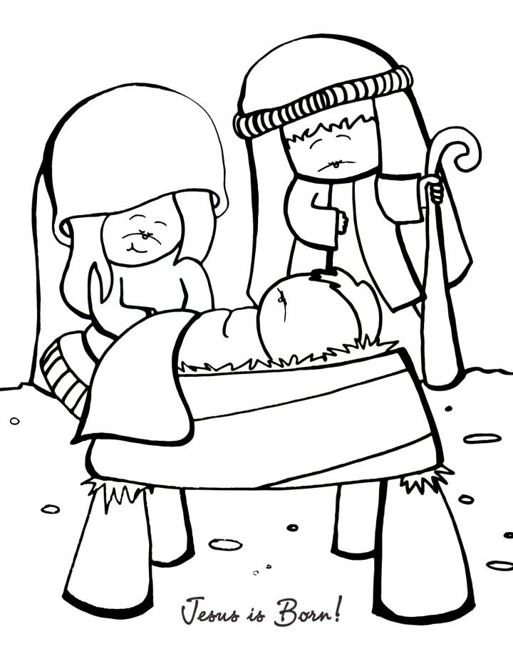Bible Lesson Coloring Pages