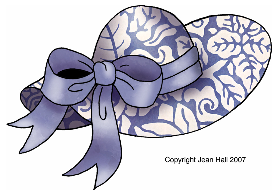 clipart easter bonnets - photo #6