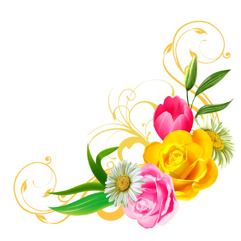 clipart flower backgrounds - photo #45