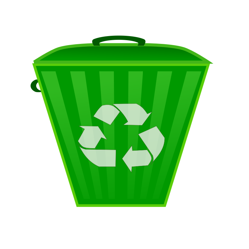 Clipart - Recycle Bin