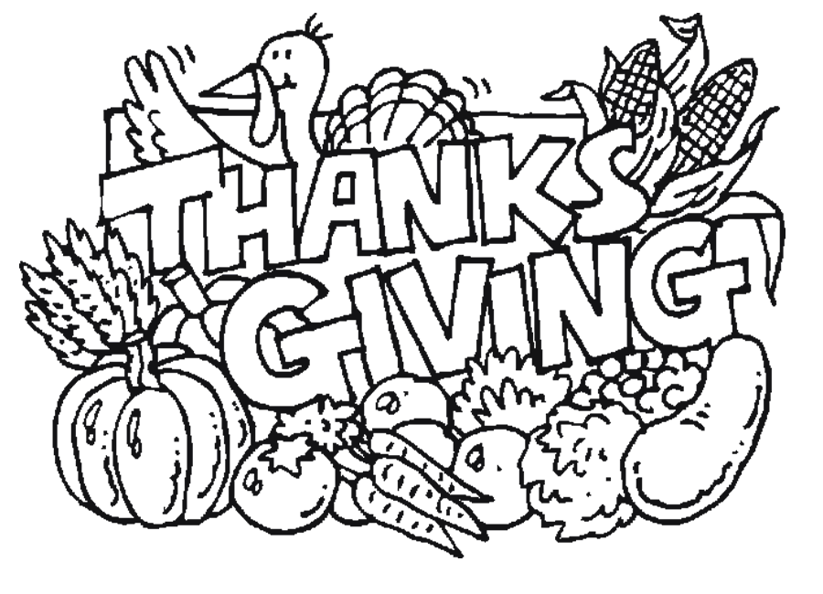 Happy Thanksgiving Coloring Pages | quotes.
