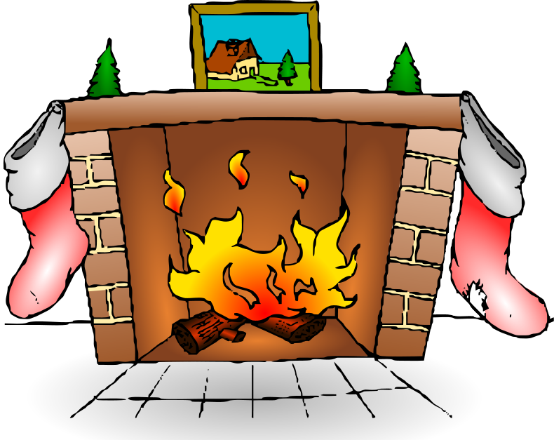 The Christmas Newsletter: The Fireplace